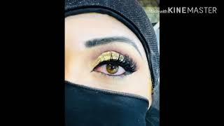 How to apply false eyelashes with powerful Glue/false lashes tutorial 2018 with Mj