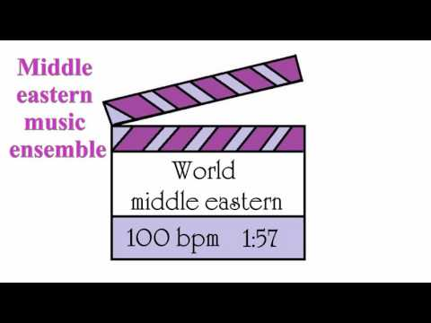 desert night dance music - slow middle eastern music - belly dance music - production music library
