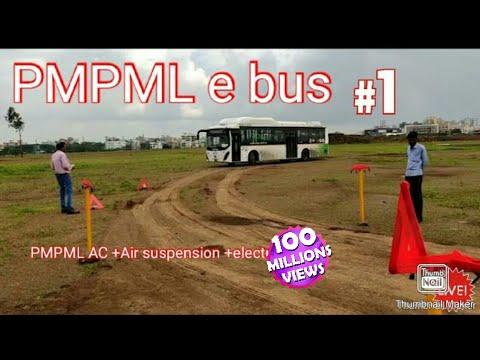 Pune electric bus -PMPML-E bus pune
