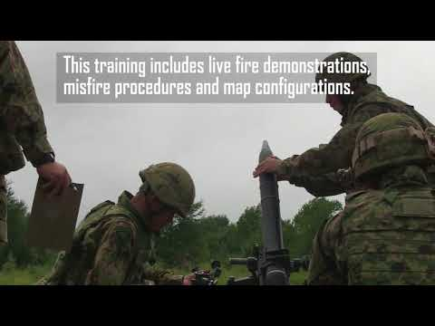 Lava Dogs work with Japanese Ground Self-Defense Force to send mortars through the sky