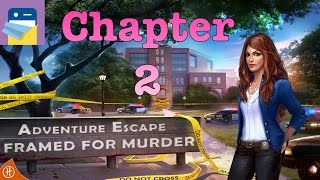 adventure Escape Framed for Murder: Chapter 2 Walkthrough Guide & Gameplay (by Haiku Games)