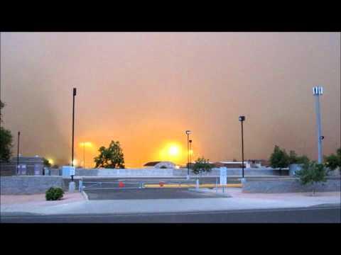 Dust Storm Phoenix Metro, Tempe, Mesa, Phoenix 7/5/11