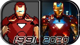 EVOLUTION of IRON MAN in Video Games 💥(1991-2020) Marvel's Avengers: A-Day IronMan gameplay trailer