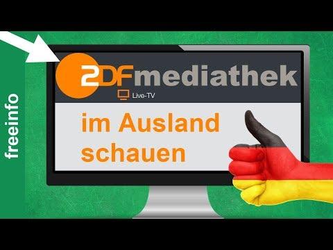 ZDF Live Stream & Mediathek im Ausland schauen (2020)