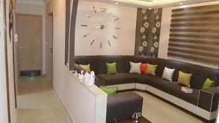 شقق نموذجية مفرشة بذوق راائع و ألوان متناسقة decoration maison moderne