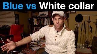 Blue vs White collar WAR created student debt MONSTER