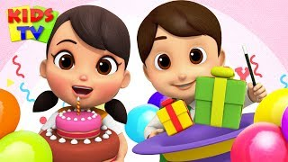 Happy Birthday Song | Boom Buddies Nursery Rhymes and Songs for Children | Kids Cartoons