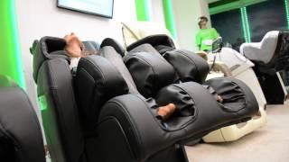 видео массажные кресла