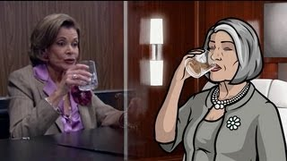 Malory Archer is Lucille Bluth