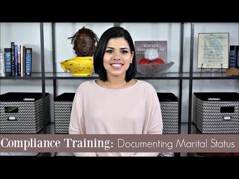 Documenting Marital Status in LIHTC Communities | Compliance Training