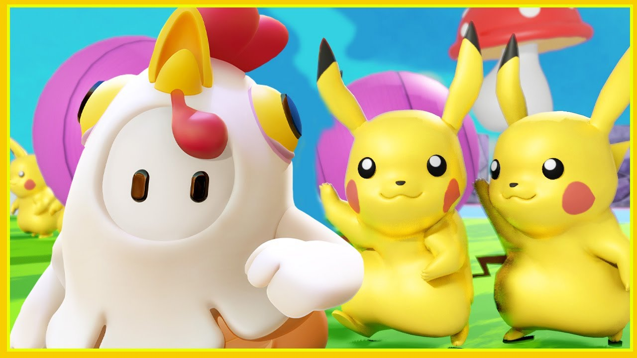 FALL GUYS POKEMON Pikachu !!!