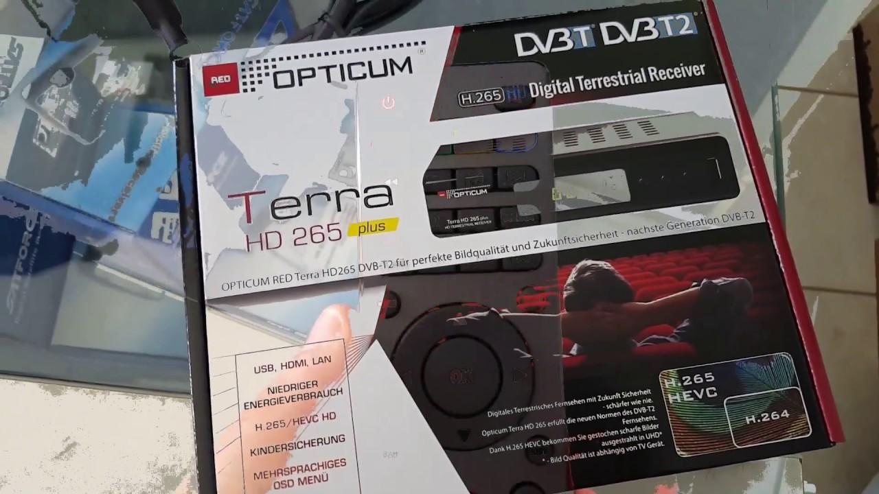 Opticum H 265 Terra Plus Video Review - YouTube