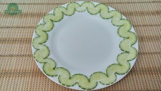 Vegetable Plate Decoration (04) || Vietnam Food Channel