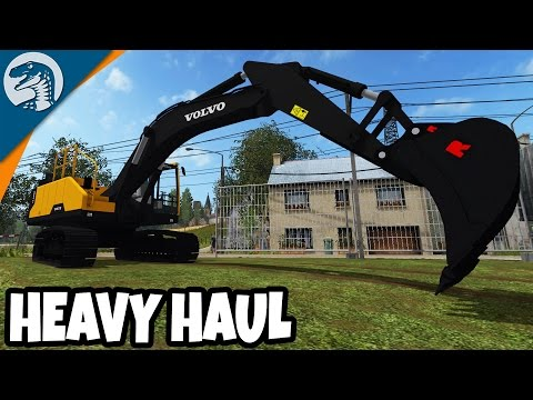 HEAVY EQUIPMENT LOAD UP & HAUL | Rappack Farms #40 | Farming Simulator 17 Multiplayer Gameplay