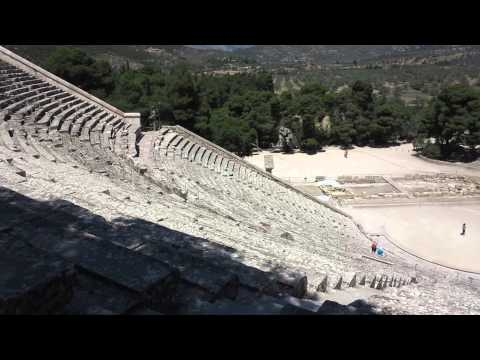 Theatre of Ancient Epidavros Greece