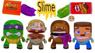 NEW Hungry Hangrees Mystery Food Slime Blind Bags - Video Review