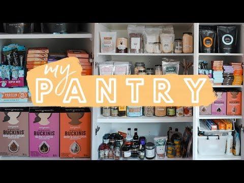 PANTRY ORGANISATION // My Healthy Pantry Staples & Snacks