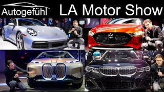 Los Angeles Motor Show Highlights REVIEWS new cars @ LA Mobility - Autogefühl