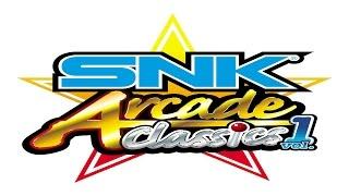 SNK ARCADE CLASSICS VOL.1: PRIMEIRA VEZ AO VIVO - PSP