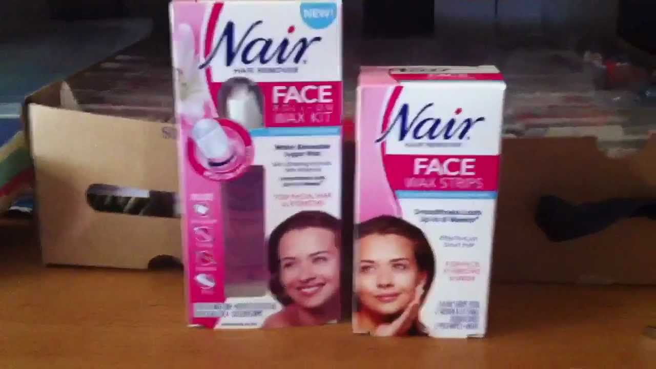 Nair Face Wax Strips Review Youtube