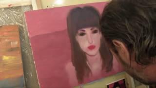 Портрет девушки, пишем человека, научиться рисовать Мастер класс Художник Игорь