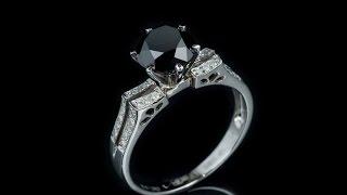 Помолвочное кольцо с черным бриллиантом  арт. YK88169 - Интернет магазин Kr8tiv.RU(, 2016-02-17T15:52:00.000Z)