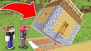 ÖRÜMCEK ADAM EVİN İÇİNDE GİZLİ GEÇİT BULDU! 😱 - Minecraft