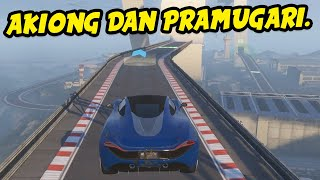 AKIONG DAN PRAMUGARI - GTA 5 Indonesia Funny Moments