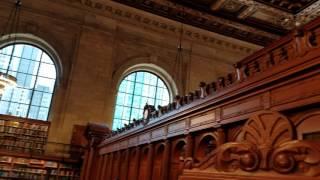 Центральная библиотеке Нью Йорк 1