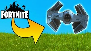 Build Darth Vader's Tie Ship! Fortnite Save the World