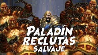 Paladín reclutas - Hearthstone español - Salvaje Trono helado