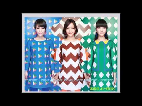 Perfume - Magic of Love × Wolfgang Gartner - Anaconda (Mashup) Zenji-mix