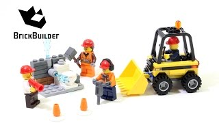 Kijk LEGO City 60072 Sloop startset filmpje
