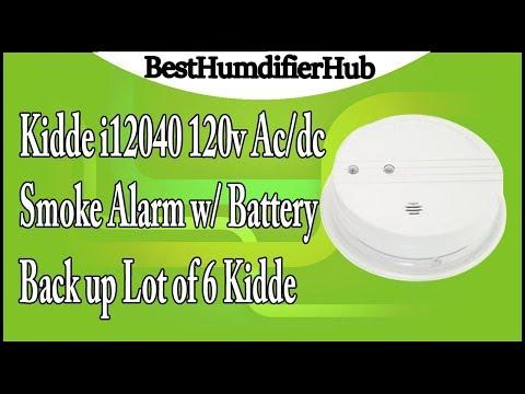 Brand New Kidde i12040 120v Ac//dc Smoke Alarm w// Battery Back up Lot of 2