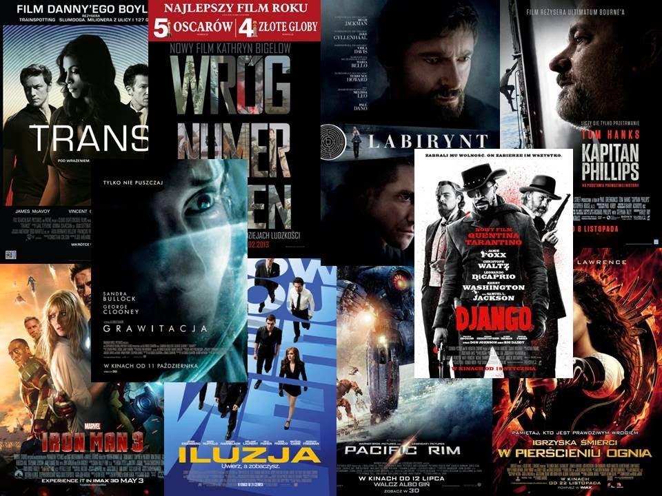 TOP 10 - Najlepsze filmy 2013 roku (rozrywkowe) - YouTube