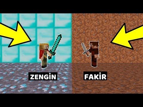 ZENGİN VS FAKİR #258 - Fakir Bebek ve Zengin Bebek Kavga Ediyor (Minecraft)