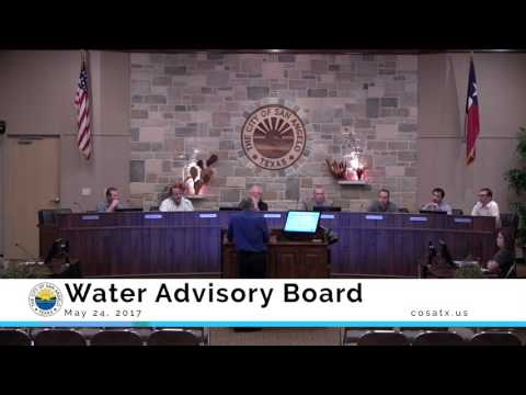 Water Advisory Board 5-24-17