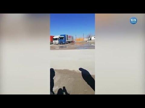 Türkiye'den Giden Şoförler Türkmenistan Sınırında Mahsur