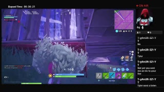 Fortnite season 8 battle pass gameplay/ duo with jxy playz