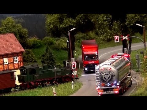 RC German City Trucks Trains Buses LKW Zug Bus ♦ Erlebniswelt Modellbau Erfurt Modellbaumesse