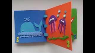 Baby Foam Books, morskie zwierzęta