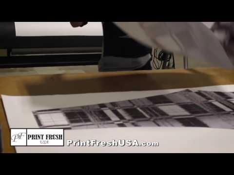 Making Yoga Pants and Leggings with Print Fresh USA