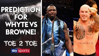 Dave Allen predicts Whyte/Browne, lifts lid on sparring Joe Joyce & reveals future plans | Toe 2 Toe