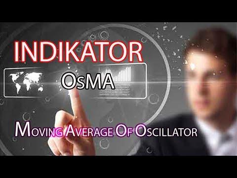 INDIKATOR OSMA (MOVING AVERAGE OF OSCILLATOR)