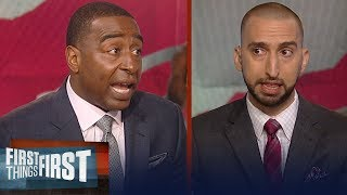 Cris Carter and Nick Wright on Kawhi Leonard