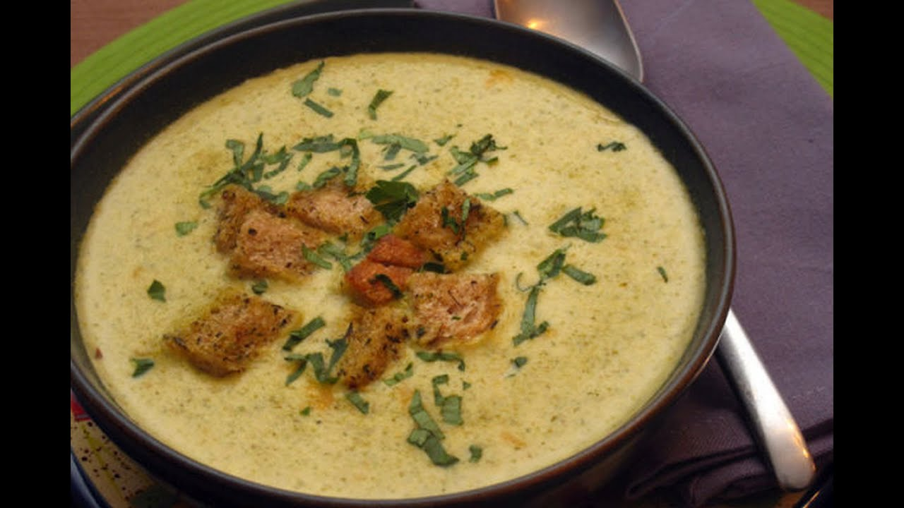 Broccoli and Cheese Soup Recipe -- The Frugal Chef - YouTube