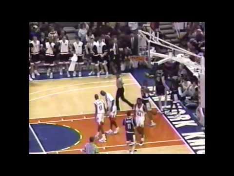 Feb. 3, 1996 - #4 UConn @ St. John's Highlights