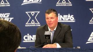 Greg McDermott After #7 Creighton Wins at #22 Xavier (1/16/17)