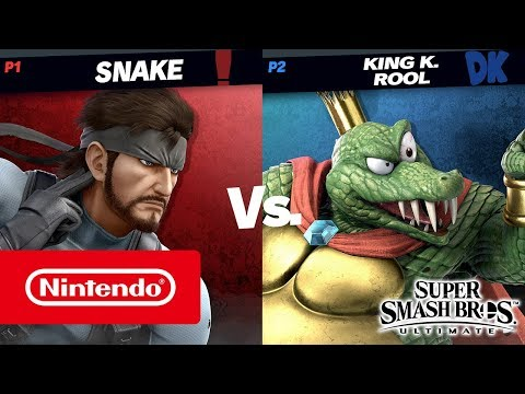 Super Smash Bros. Ultimate – Gameplay de King K. Rool (Nintendo Switch)