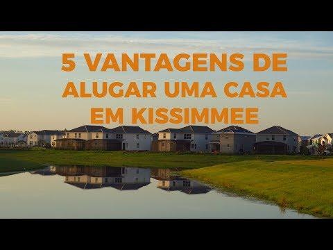As 5 vantagens de alugar uma casa em Kissimme e Orlando